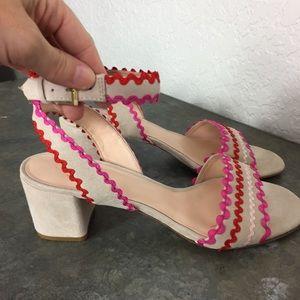 bdd41048bb28 kate spade Shoes - Kate Spade Piedra sandal chunky heel EUC pink 9.5
